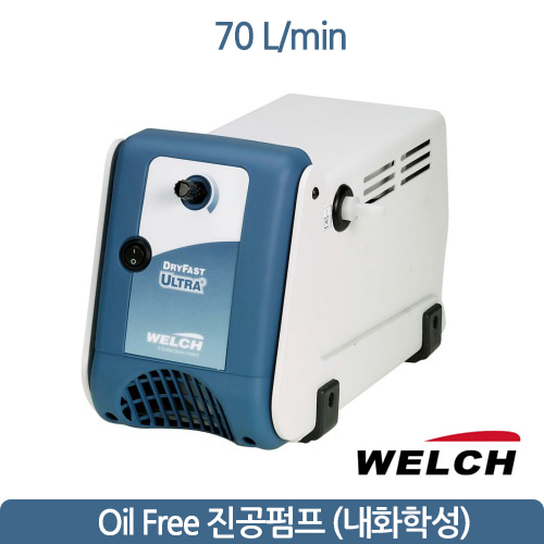 welchi teflon diaphram pump 웰치 진공펌프 70L/min  welch 2047