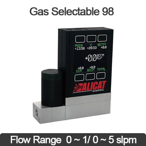Mass Flow Controller (Multi gas selectable) 가스질량유량계