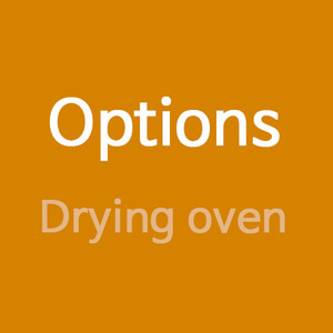 Options(Drying oven)