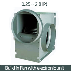 Build in Fan with electronic unit