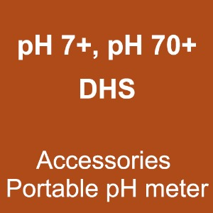 pH7+, pH70+ DHS (Accessories Portable pH meter)