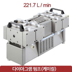 welchi Diaphragm Pump 웰치 진공펌프 221.7L/min Chemical MPC 1801 Z